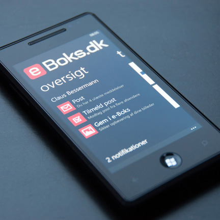e-Boks klar til Windows Phone